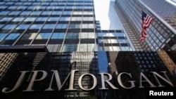 Trụ sở của JP Morgan Chase tại New York.