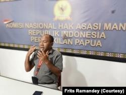 Ketua Komnas HAM RI Perwakilan Papua, Frits Ramandey.(Foto: Frits Ramandey/koleksi pribadi)