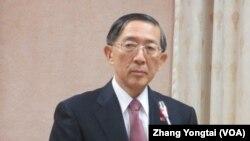 台湾外长林永乐 (美国之音张永泰拍摄)