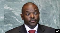 Le président Pierre Nkurunziza (archives)