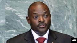 Le président Pierre Nkurunziza envisage de briguer un troisième mandat (Archives)