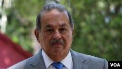 El magnate mexicano Carlos Slim, el hombre más rico del mundo, recibió un titulo honorifico de la Universidad de George Washington