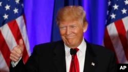Tubo vai bem para Trump
