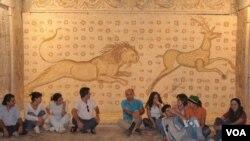 Aktivis berlomba selamatkan sejarah budaya Suriah