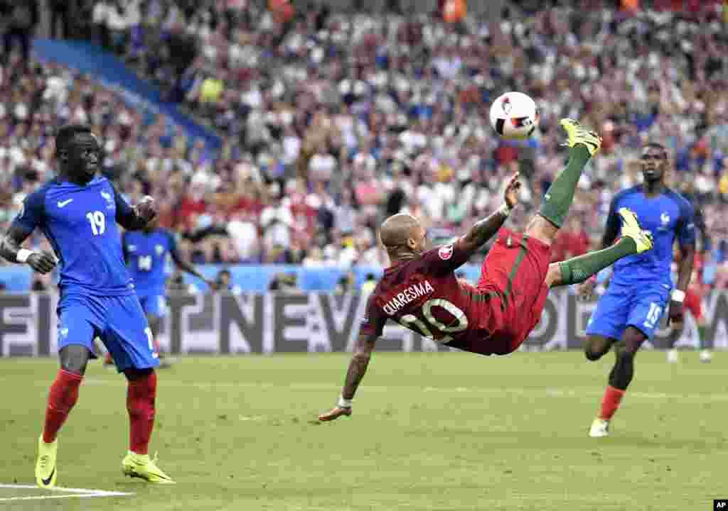 Portugal Ta Lashe Gasar Kwallon Kafa Ta Kasashen Turai Euro2016 Cup