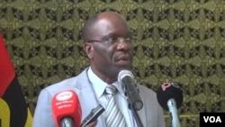 Joaquim Fernandes director do Gabinete Provincial de Educação em Malanje