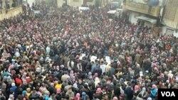 Activistas en Siria dicen que más de 60 personas han fallecido este miércoles.