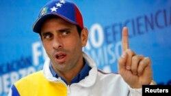 Según Capriles, la crisis que se vive es una cortina de humo del gobierno para desviar la atención de los problemas económicos de Venezuela.