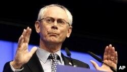 Chủ tịch Hội đồng châu Âu Herman Van Rompuy nói rằng vị tấn công bằng vũ khí hóa học hồi tháng trước tại Damascus là một tội ác kinh khiếp chống lại nhân loại.