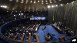 Los asesores del Presidente encargado Michel Temer, dijeron que esperan que al menos 60 senadores voten en contra de Rousseff.