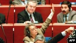 Голосование Европарламента