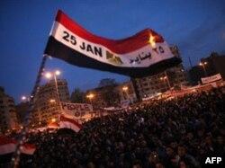 Misrda 25 yanvarda boshlangan ommaviy namoyishlar 11 fevral kuni Husni Muborak prezidentlikdan ketgachgina to'xtadi