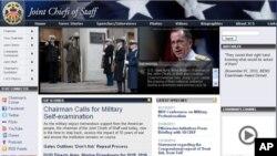 Fotografija svečanosti dočeka generala Lucića s admiralom Mullenom našla se na udarnom mjestu web sajta Združenog stožera
