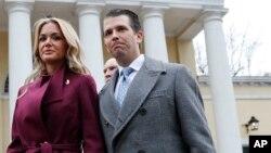 Vanessa e Donald Trump, Jr.
