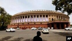 بھارتیہ جنتا پارٹی کشمیر کو حاصل خصوصی حیثیت کی مخالف رہی ہے۔ (فائل فوٹو)