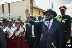 S. Sudan's Kiir Blames Outsiders for Peace Deal Inaction