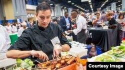 دست پخت ویژه سر آشپز ها جزء نمایشگاه آشپزی امریکا درواشنگتن بود