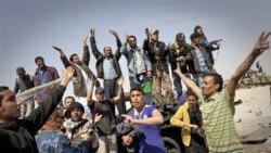 شورشيان ليبيایی، با پشتيبانی حملات هوایی غرب روز شنبه، شهر نفتی و استراتژيک اجدابيا در شرق ليبی را از کنترل نيروهای معمر قذافی رهبر ليبی خارج ساختند
