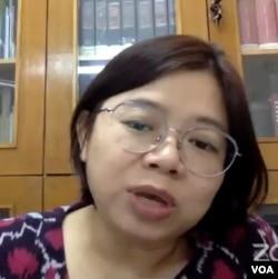 Komisioner Komnas Perempuan, Andy Yentriyani (VOA/Anugrah Andriansyah)