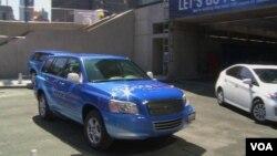 豐田推出的氫燃料電池車。(網絡截圖)