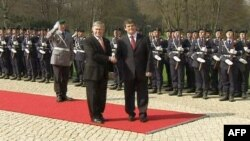 Presidenti i Shqipërisë Topi në Gjermani për një vizitë zyrtare