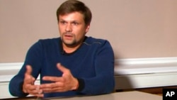 Человек, представившийся Русланом Бошировым, на интервью российскому государственному телеканалу RT