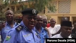 Damian Chukwu, commissaire de police de l'Etat de Borno au nord-est du Nigeria, 12 février 2018.