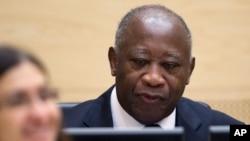Former Ivory Coast President Laurent Gbagbo.