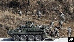 南韓舉行軍事演習(資料圖片)