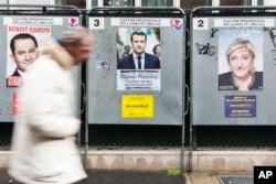 Fransada prezident seçkisi