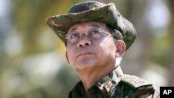 Tổng tư lệnh quân đôi Myanmar Min Aung Hlaing