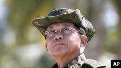 Myanma qurolli kuchlari qo'mondoni Min Aun Xlain