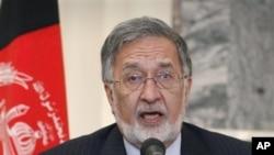 Menteri Luar Negeri Afghanistan Zalmai Rasool (Foto: dok)