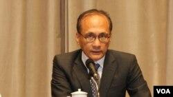台湾行政院长林全资料照(美国之音林枫拍摄)