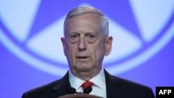 Menteri Pertahanan Amerika Jim Mattis (foto: dok).