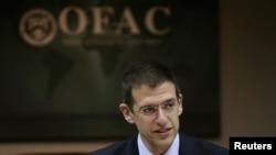 آدام زوبین، رئیس بخش اداره کنترل دارایی های خارجی در وزارت خزانه داری آمریکا.