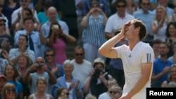 Andy Murray, qualifié pour la finale du tout premier tournoi du Grand Chelem de la saison 2015