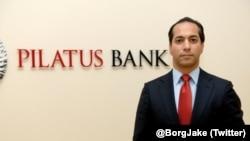 علی صدر هاشمی نژاد شهروند آمریکایی ایرانی تبار و رئیس ۳۸ ساله بانک پیلاتوس - آرشیو