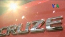 Tiga Pabrik Mobil AS Tampil Meyakinkan di Detroit Auto Show - Laporan VOA 11 Januari 2011
