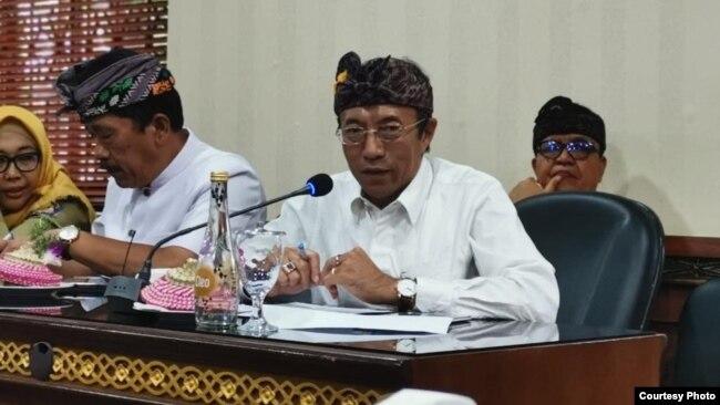 Dr. Ketut Suarjaya, Kepala Dinas Kesehatan Provinsi Bali (foto: courtesy).