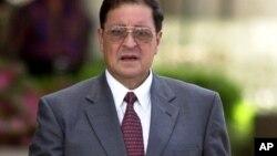 El exministro es acusado de tortura, secuestros y asesinatos durante la guerra civil de El Salvador.