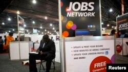 Bursa pencari kerja di Philadelphia. (Foto: Dok)