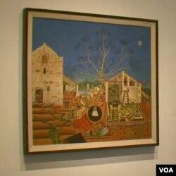Slika farma odražava djetinjstvo provedeno na obiteljskoj farmi