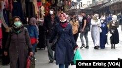 Salgın sonrası alınan önlemlerle birlikte Gaziantep sokakları