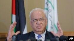 Палестинскиот преговарач Саеб Ерекат