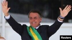 亲美的博尔索纳罗2019年元旦就任巴西总统(路透社)