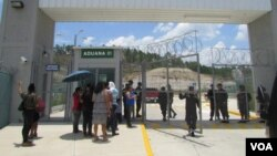 Vista general de la cárcel de máxima seguridad El Pozo I, Honduras. Foto cortesía O. Ortiz.