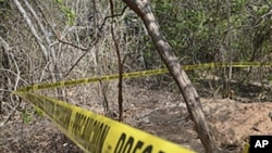 Mexico authorities discover a mass grave containing seven bodies (File)