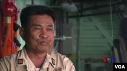 柬埔寨海軍第六巡邏艇支隊司令殷•索科姆拉上校