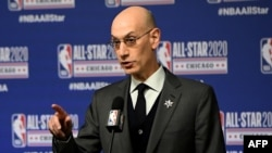 Kwamishinan NBA, Adam Silver